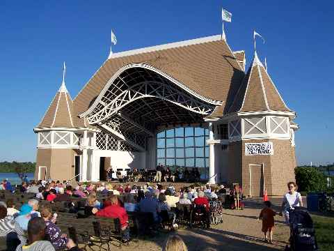 Bandshell Lake Harriet