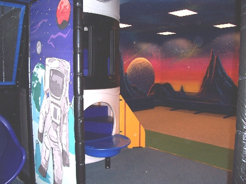 "The ""Blast"" indoor playground at Eagan Center"