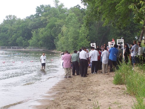 Baptism at Lake Riley