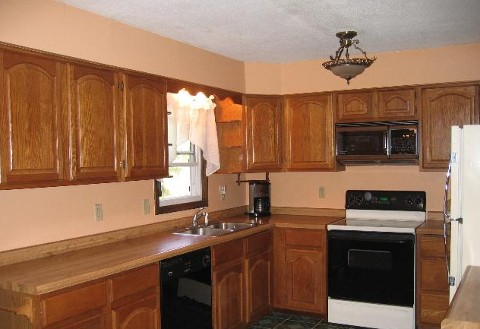 home with large kitchen