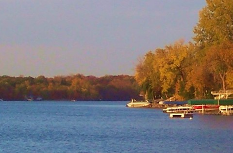 point on lower prior lake