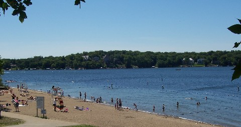public beach prior lake