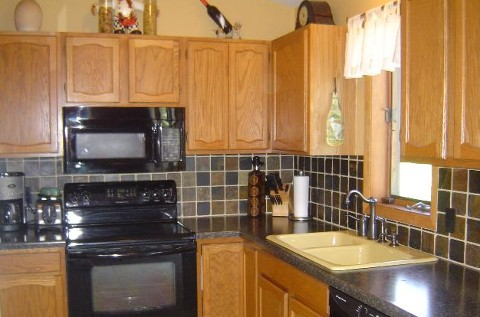 updated kitchen in lakeville home for sale