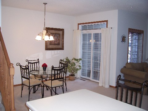 dining room plymouth mn townhome