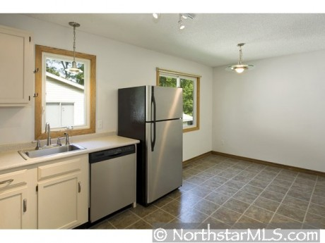 Shiny new stainless steel appliances are yours!