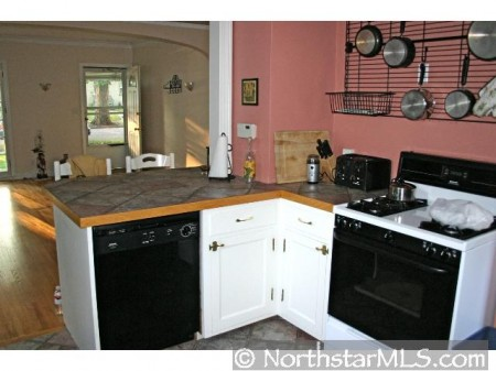 Dishwasher, range, and refrigerator included!
