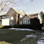 eden prairie home with three car